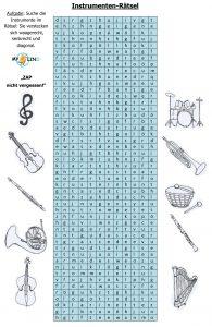 Instrumenten-Rätsel